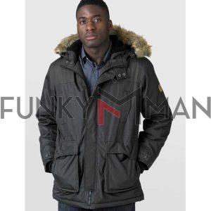 Parka Jacket DUKE 133582 LOVETT FW20 Χακί