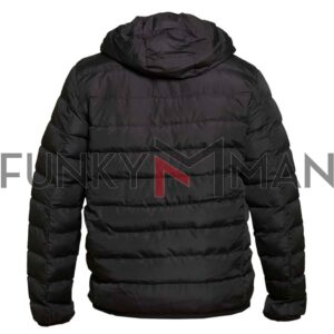 Puffer Jacket DUKE KS30316 CLARK-1 FW20 Μαύρο
