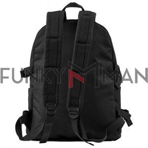 Traveller Σακίδιο Πλάτης FUNKY BUDDHA FBM002-064-10 Μαύρο