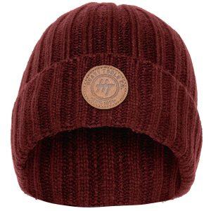 Σκούφος Knitted Hat HEAVY TOOLS PERFINO Wine Red