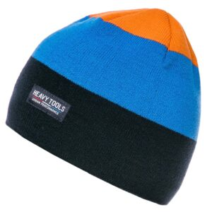 Σκούφος Knitted Hat HEAVY TOOLS PLAUSO Μπλε