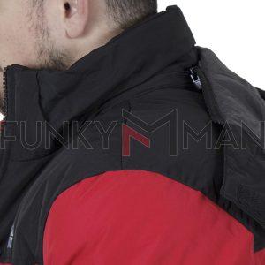 Winter Puffer Jacket ICE TECH G828 Κόκκινο
