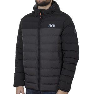 Winter Puffer Jacket ICE TECH G837 Γκρι