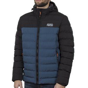 Winter Puffer Jacket ICE TECH G837 Petrol