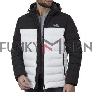 Winter Puffer Jacket ICE TECH G837 Λευκό