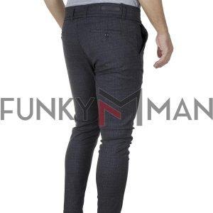 Cropped Chinos Παντελόνι SENIOR CRO-001-02 σκούρο Γκρι