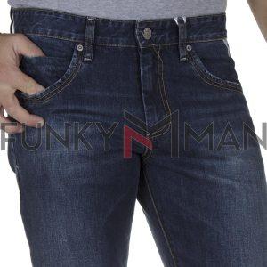 Τζιν Παντελόνι Slim Fit SHAFT Jeans DM770 FW20 Μπλε