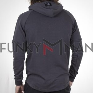 Hoodie Cotton4all 21-116 Ανθρακί
