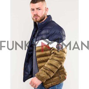 Puffer Jacket DUKE 300801 BASSETT Copper