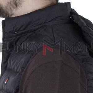 Μπουφάν Γιλέκο Vest Garage55 GAM002-001-01 Μαύρο