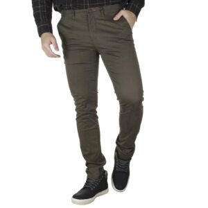 Chinos Slim Fit Παντελόνι VICTORY CHARLIE Olive