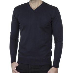 Πλεκτή Μπλούζα V Neck Knitwear ENDESON 120 Navy