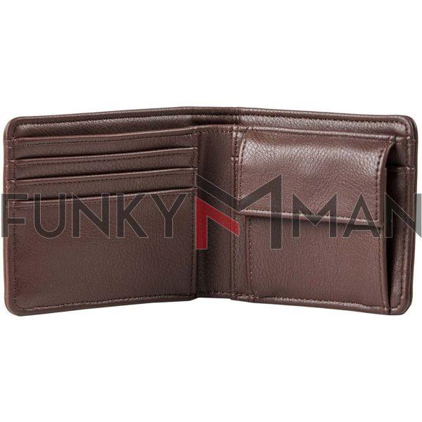 Πορτοφόλι FUNKY BUDDHA FBM002-077-10 Καφέ