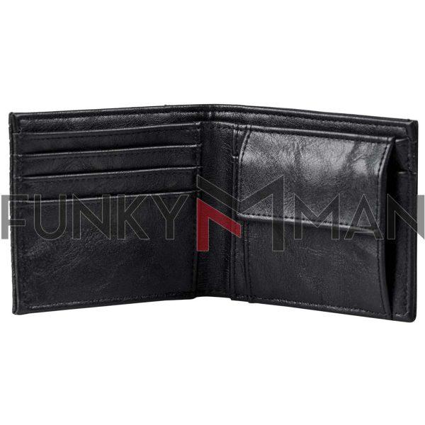 Πορτοφόλι FUNKY BUDDHA FBM002-077-10 Μαύρο
