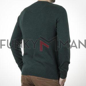 Πλεκτή Μπλούζα FUNKY BUDDHA 001.006895 Pesto