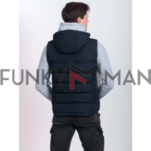 Rain & Wind Defender Vest ICE TECH G825 Navy