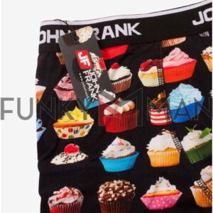 Boxer John Frank Cupcake JFB55 Μαύρο
