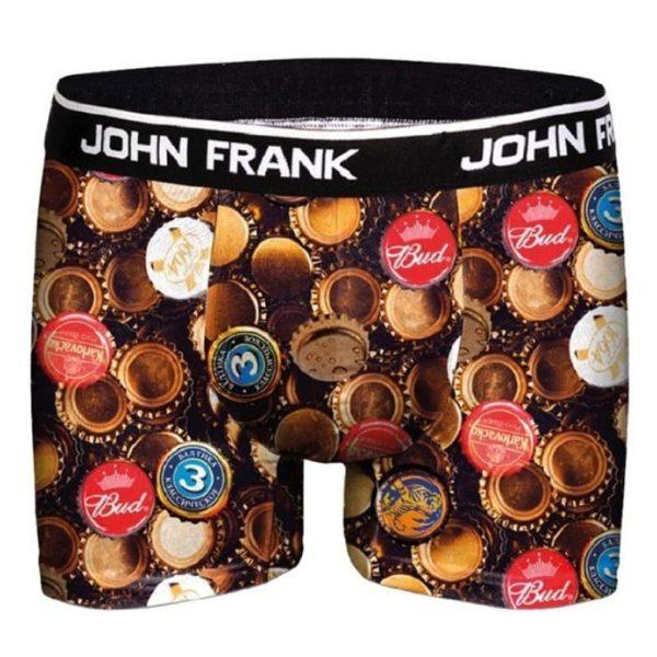 Boxer John Frank Caps JFBD317 Μαύρο
