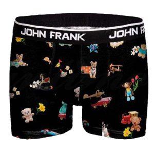 Boxer John Frank Toys JFBD327 Μαύρο