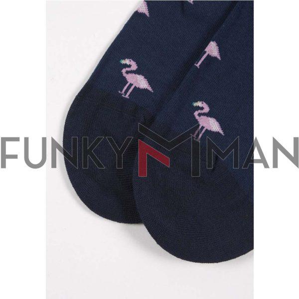 Κάλτσες John Frank Flamingo JFLS19WCOOL16 ONE SIZE 40-45
