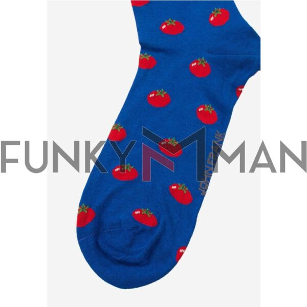 Κάλτσες John Frank Tomatoes JFLSCOOL30 ONE SIZE 40-45