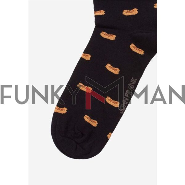 Κάλτσες John Frank Hot Dog JFLSCOOL31 ONE SIZE 40-45