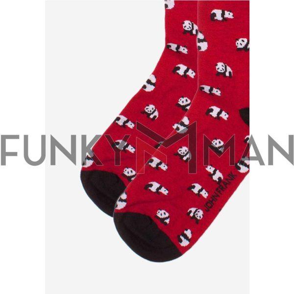 Κάλτσες John Frank Panda JFLSFUN56 ONE SIZE 40-45