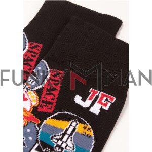 Κάλτσες John Frank Lips JFLSFUN50 ONE SIZE 40-45