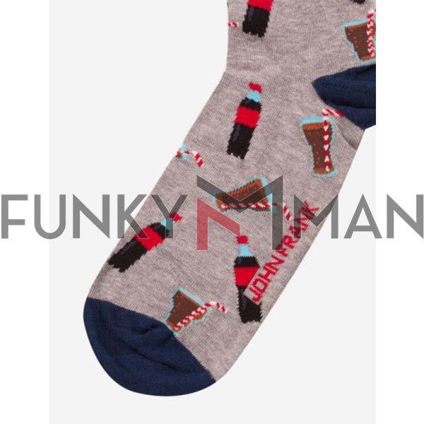 Κάλτσες John Frank Cola JFLSFUN64 ONE SIZE 40-45