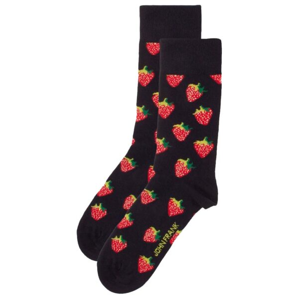 Κάλτσες John Frank Strawberry JFLSFUN76 ONE SIZE 40-45