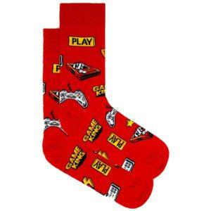 Κάλτσες John Frank Pizza & Play JFLSFUN87 ONE SIZE 40-45