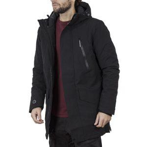 Winter Parka Jacket SPLENDID 44-201-015 Μαύρο