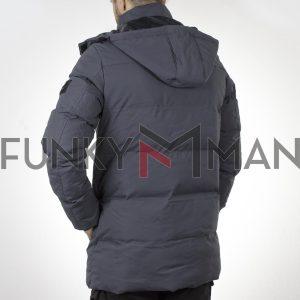 Winter Parka Jacket SPLENDID 44-201-018 Γκρι