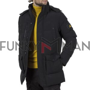 Winter Parka Jacket SPLENDID 44-201-019 Μαύρο