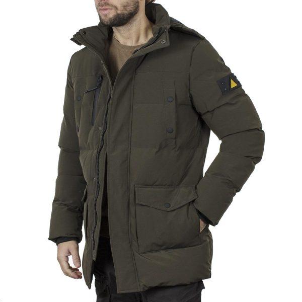 Winter Parka Jacket SPLENDID 44-201-019 Χακί