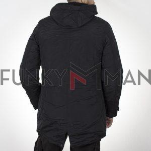 Winter Parka Jacket SPLENDID 44-201-024 Μαύρο