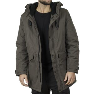 Winter Parka Jacket SPLENDID 44-201-024 Χακί
