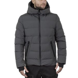 Winter Puffer Jacket SPLENDID 44-201-038 Γκρι