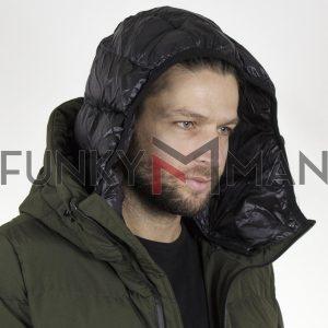 Winter Puffer Jacket SPLENDID 44-201-038 Χακί