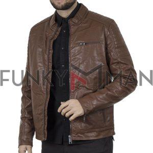 Jacket Δερματίνη SPLENDID 44-201-040 Camel