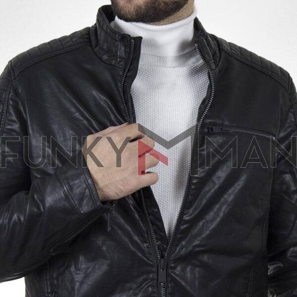 Jacket Δερματίνη SPLENDID 44-201-040C Μαύρο