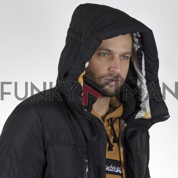 Winter Puffer Jacket SPLENDID 44-201-041 Μαύρο