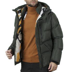 Winter Puffer Jacket SPLENDID 44-201-041 Χακί