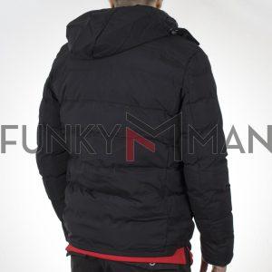 Winter Puffer Jacket SPLENDID 44-201-047 Μαύρο