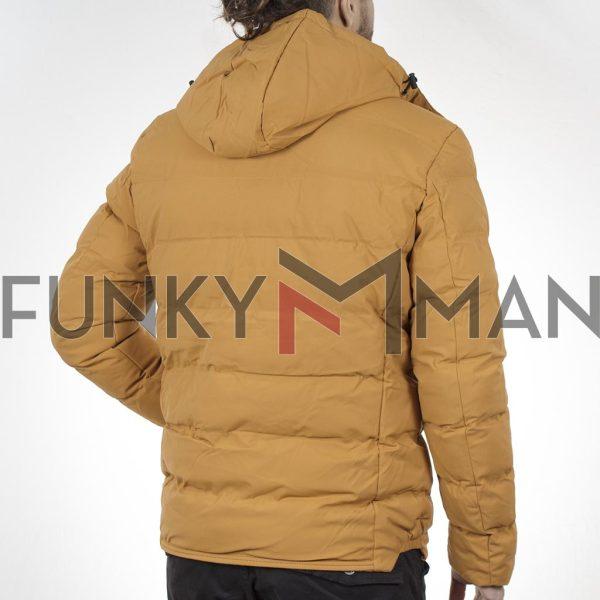 Winter Puffer Jacket SPLENDID 44-201-047 Mustard