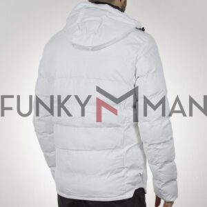 Winter Puffer Jacket SPLENDID 44-201-047 Λευκό