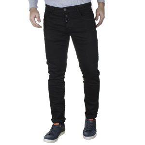 Τζιν Slim Παντελόνι DAMAGED US34B Μαύρο
