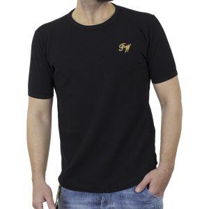 Κοντομάνικο Fashion T-Shirt FREE WAVE 22105 Μαύρο