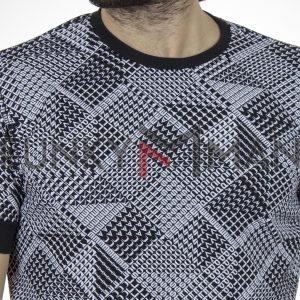Κοντομάνικο Fashion T-Shirt FREE WAVE 22107 Γκρι