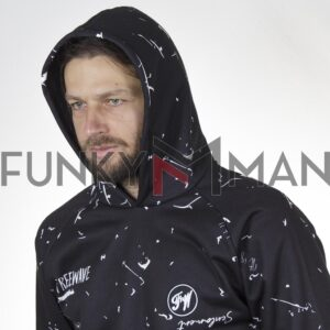 All Over Print Hoodie FREE WAVE 22410 Μπλε